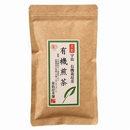オーガニック ブレンド 緑茶 有機宇治茶 4080453-sk 売り出し 100g 1個はメール便対応可 童仙房茶舗 有機煎茶 正規販売店