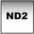 【即配】 COKIN コッキン X-PROシリーズ ハーフグラデーションフィルター X121L グレー2ライト (ソフトND2)  【フィルター幅130mm】【ネコポス便送料無料】