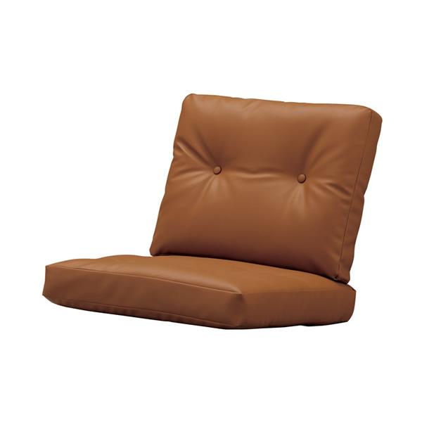 無料サンプル有 マルニ60 正規取扱店 木製 クッション ソファ 椅子 オーク 本物 バラ売り ブラウンレザー 背 座シートセット ディスカウント パーツ オークフレームチェア用