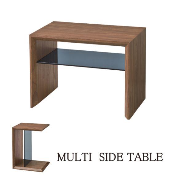 サイドテーブル SO-226 サイドテーブル 天然木 棚付き ナチュラル 北欧 おしゃれ ガラス ウォールナット ヴィンテージ 塩インテリア マガジン収納 ラック 収納 サイドテーブル ナイトテーブル カフェ風 ソファーテーブル ベッドサイドテーブル 木製