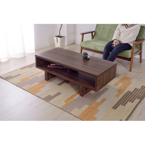 センターテーブル OL-851 ボックス型 テーブル リビングテーブル ダイニングテーブル 和室 食卓 ナチュラル 北欧 コーヒーテーブル ローテーブル ソファテーブル 見せる収納 収納スペース 棚 人気 新生活 引っ越し シンプル おしゃれ カントリー 机 つくえ