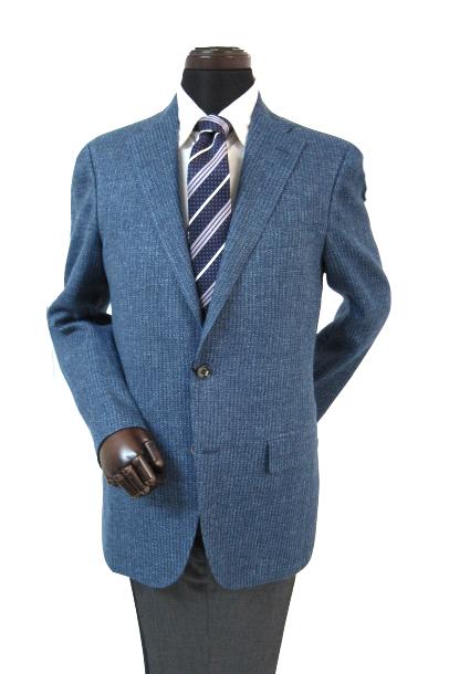 ヒッキーフリーマン メンズジャケット ニットライク リネン ブルー 軽量 AB4 AB5 AB6 AB7 BB4 BB5 BB6 BB7 BB8 2n5