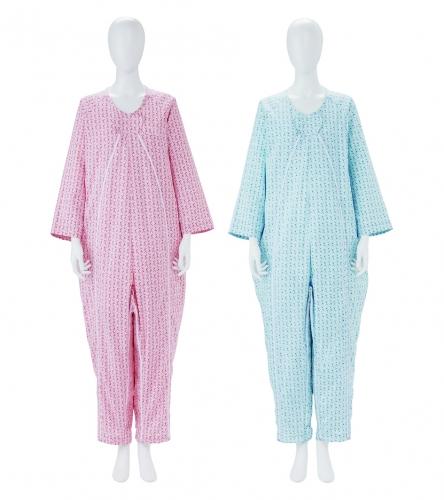 毎日のことだから 着脱しやすさを考えたパジャマ フドーねまき2型3シーズン LL ファッション通販 コーラルピンク 未使用品