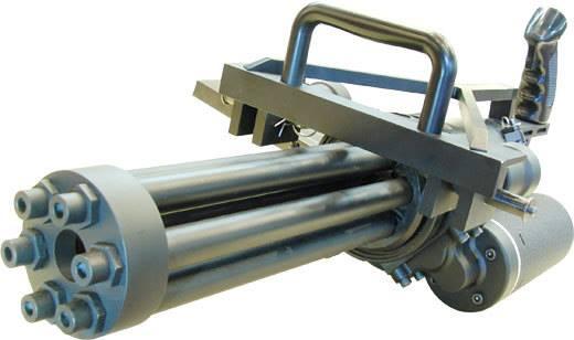 【マラソン期間中全品ポイント10倍!】CAW Mule M134 ミニガン 電動フルオート 専用木箱付 代引不可 新品 18歳以上用 サバゲー エアガン 害虫駆除 飛距離50~60m 銃