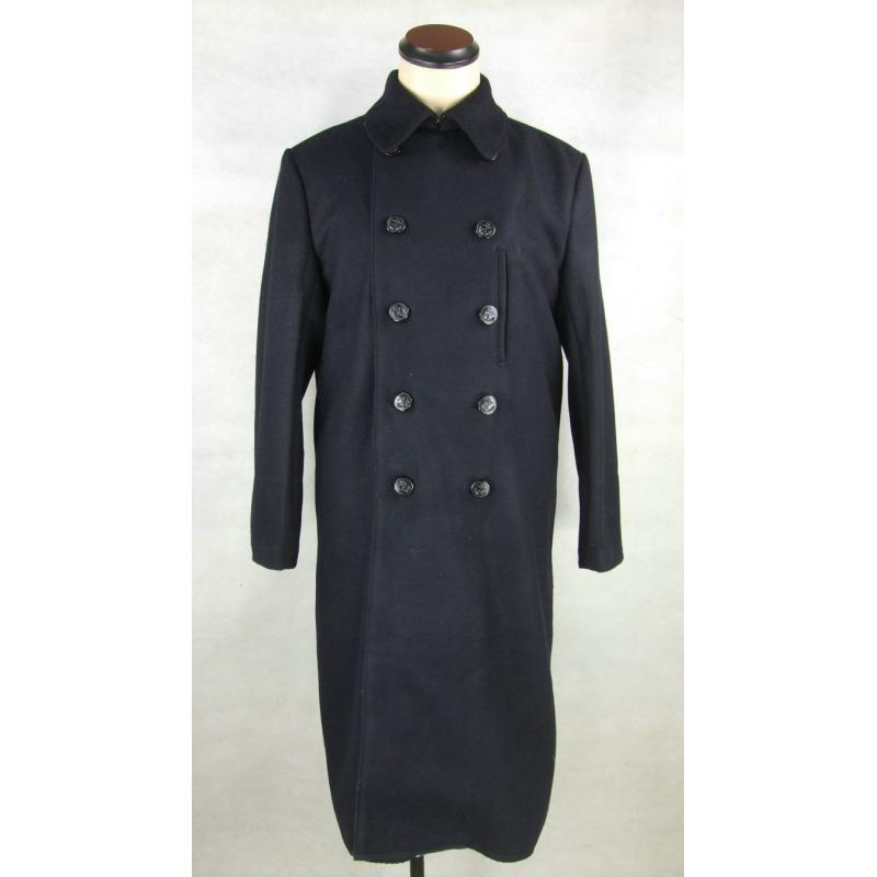 日本海軍 外套 コート マント 軍服 紺 ウール 高級複製品