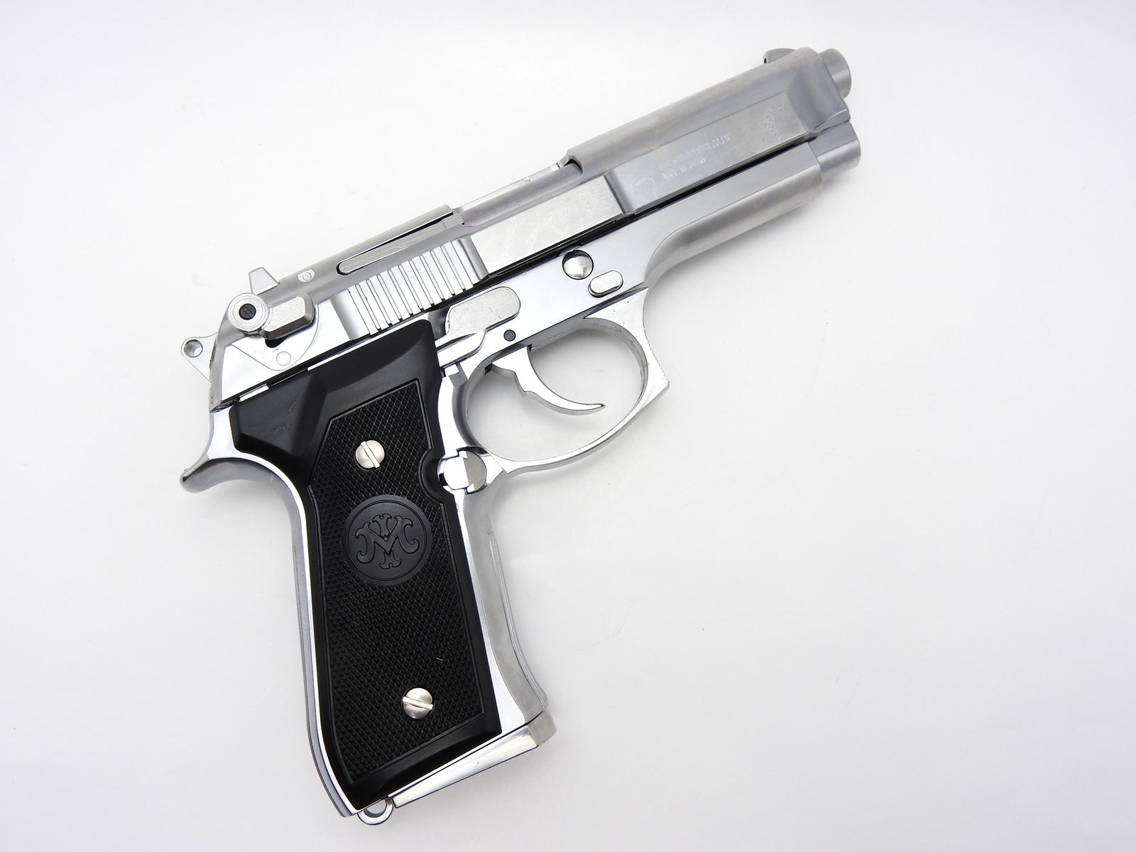 マルシン US M9 ドルフィン シルバー ABS 発火モデルガン ブローバック 完成品
