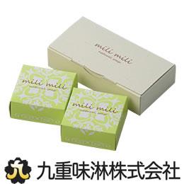 お肌に優しい無添加のみりん粕せっけん 至上 日本メーカー新品 みりん粕石鹸 milimili ミリミリ 2個入り