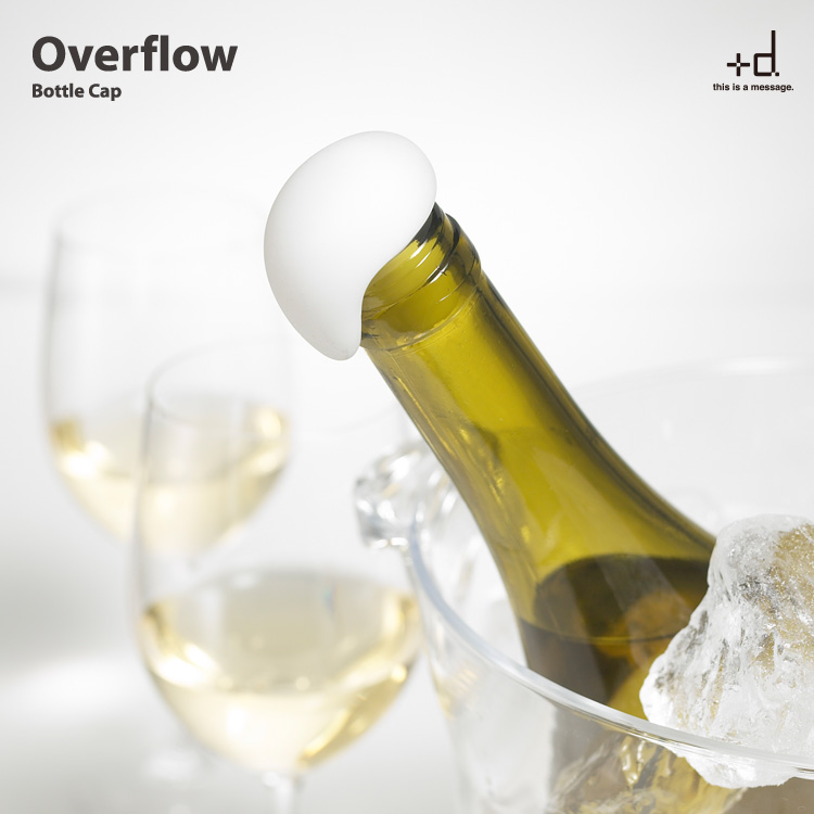 シュワシュワ溢れ出るボトルキャップ。 +d Overflowオーバーフロー ボトルキャップ
