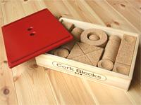 人気 の コルク 積み木 Aセット コルクランド(COLK LAND) コルクの積み木