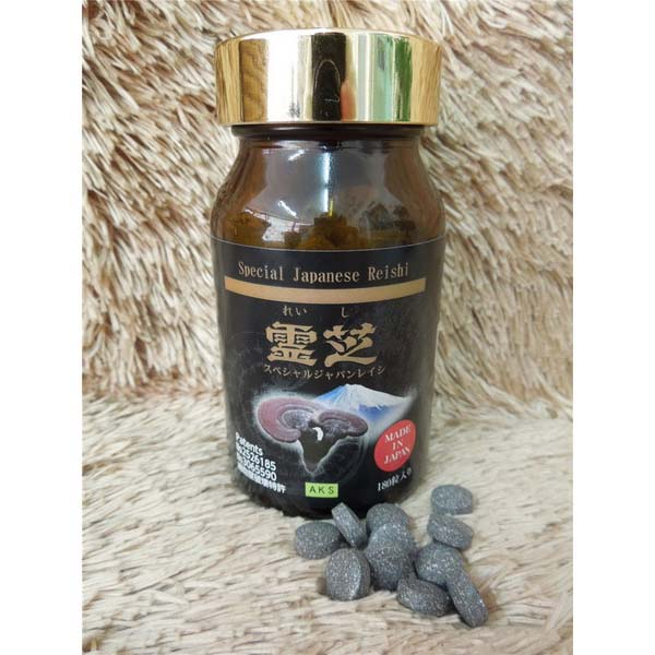 Abundant β-glucans support healthy! Spiritual turf special Japan reishi 180 grit