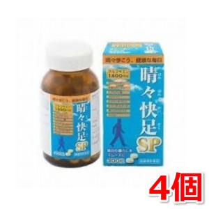 晴々快足SP (グルコサミン) 300錠×4個(約120日分) 広貫堂 コンドロイチン