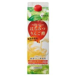 トキワ ヘルシーはちみつりんご酢 1000ml 8本セット うすめ容器あり 常盤薬品 分岐鎖アミノ酸