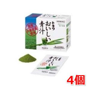 トキワおいしい青汁 30包 4個セット 常盤薬品 大麦若葉