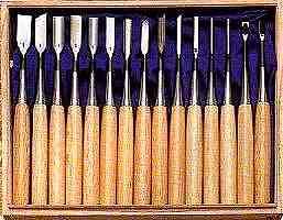 安い 彫刻小道具のみ 【送料無料!】 15本組 剣 丹念に一本一本つくり上げた手作りの本物をお手元に:ごようきき。クマぞう-DIY・工具