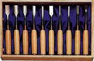【送料無料!】【数量限定】 ミニ木彫のみ 10本組 舞 丹念に一本一本 つくり上げた手作りの本物をお手元に