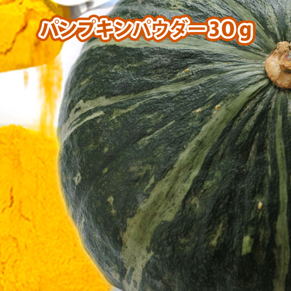 天然素材100%のやさしい彩を ナチュラルカラー パンプキンパウダー 30g HappyPrice100YEN 北海道産 かぼちゃ 100% 国際ブランド 実物 粉末 野菜パウダー 使用 お試し 豊富 にも 食物繊維 かぼちゃパウダー