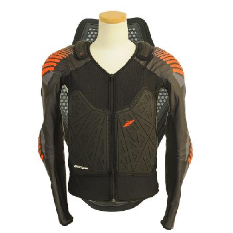 ZANDONA ザンドナ Soft active jacket X6 ソフトアクティブジャケット S バイク用品 レディース プロテクター 背中 脊椎 ジャケット 肩 胸部 【送料無料】