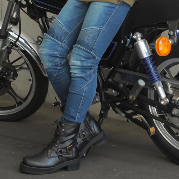 【送料無料】バイク ブーツ レディース WILD WING ライダーズリングブーツ ファルコン 厚底 WWM-0001ATU バイク用品 バイク用 シューズ 靴 ライディングブーツ バイクブーツ レディースブーツ レザーブーツ 本革ブーツ 厚底ブーツ バイカー ライダー 軽量 ワイド