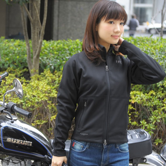 バイク 防寒インナー レディース KADOYA KS PRODUCT HRT4-JAC フルジッパー高機能インナー