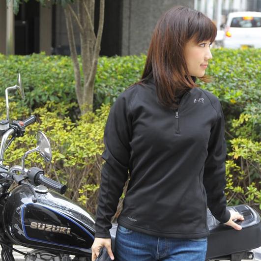 KADOYA KS PRODUCT HRT4-シャツ ハーフジッパー高機能インナー
