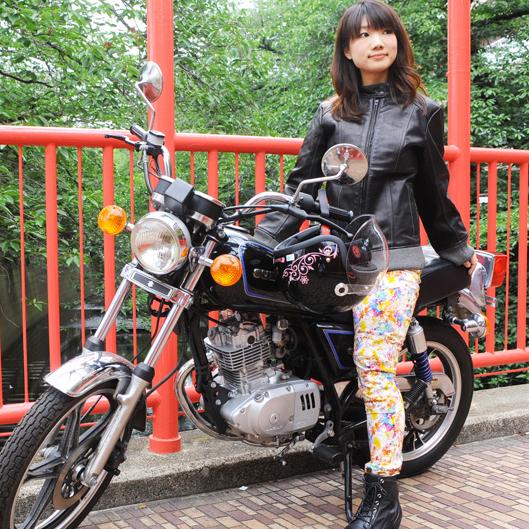 バイク ジャケット レディース J.B.S.Tokyo スタンドカラーブルゾン JBS2015SS1_JKT2 【送料無料】