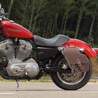 DEGNER Leather Saddle Bag レザーサドルバッグ SB-43IN 【送料無料】
