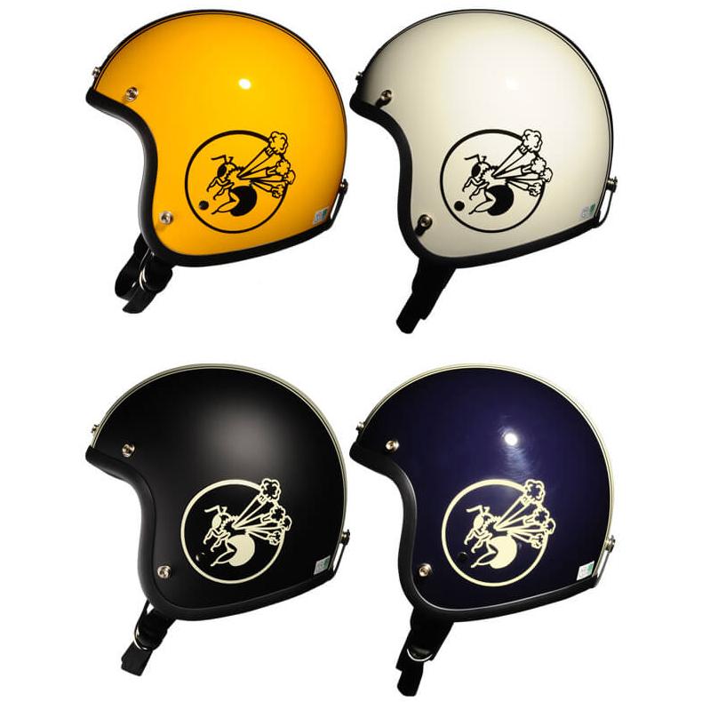 レディース ヘルメット レディース ジェットヘルメット Bumblebee バンブルビー BBHM-01N 【送料無料】