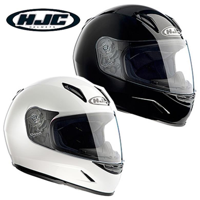 【ホワイト M(51-52)】 HJC CL-Y SOLID フルフェイスヘルメット ソリッド HJH057 フルフェイス ヘルメット キッズ レディース 小さいサイズ バイク MFJ公認