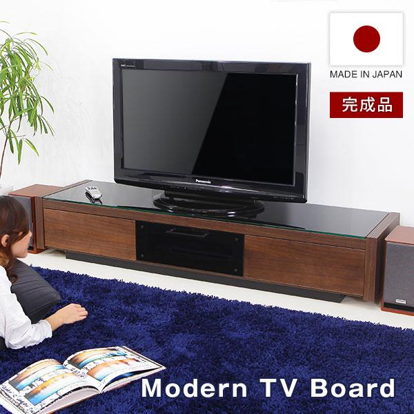テレビ台 完成品 国産 日本製 ローボード テレビボード TV台 TVボード AVボード テレビラック TVラック AVラック 40インチ 42インチ 47インチ 50インチ ウォルナット 一人暮らし おしゃれ 収納 多い シンプル スリム 木製