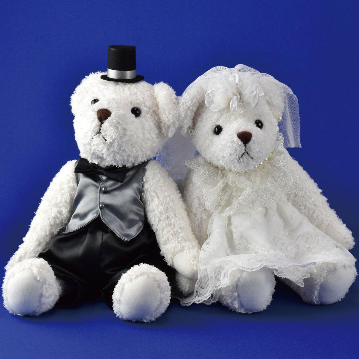 送料無料 ウエルカムベア ブライダル ウエディング エレガント レース シルク 披露宴 挙式 指輪 結婚式 くま くまちゃん 日本製