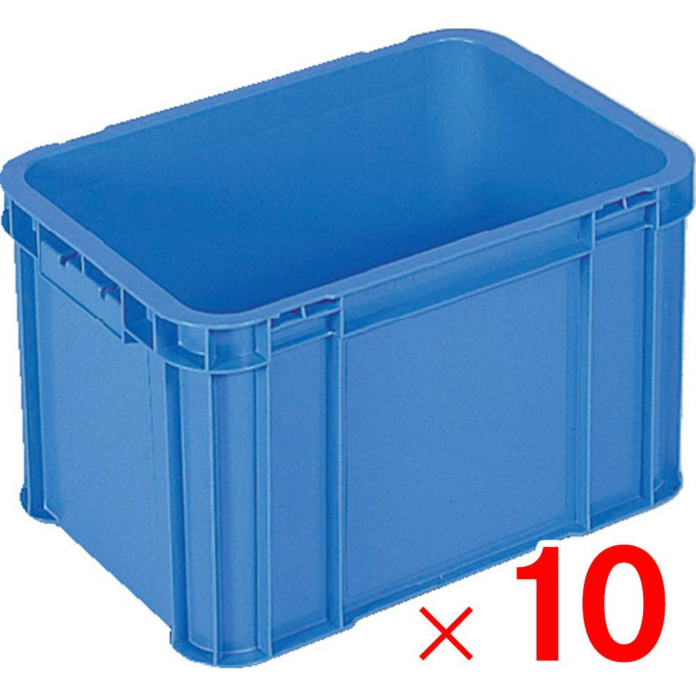 セット販売 10個 【メーカー直送・代引不可】 【法人限定】サンコー 204901 サンボックス#50A ブルー