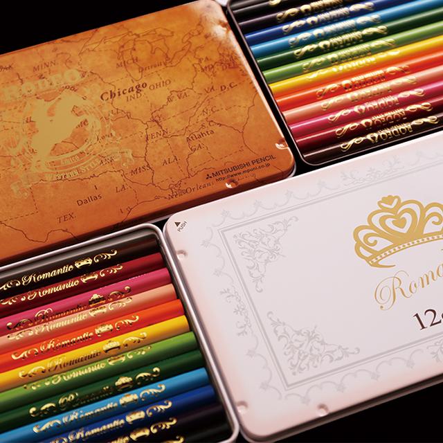 三菱鉛筆・LIRICO(リリコ) 12色入り色鉛筆