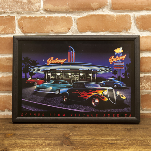 Lavieen: American LED Neon Picture / Galaxy Picture Frame