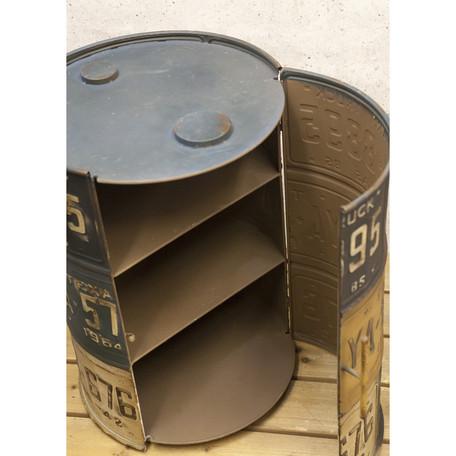 Garage Gadgets lavieen | rakuten global market: american plate drum box / cabinet