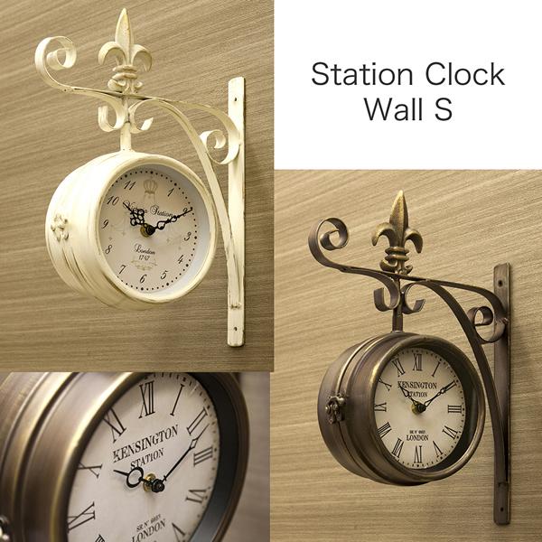 station krock boss said wall clocks wall clock s size doublesided