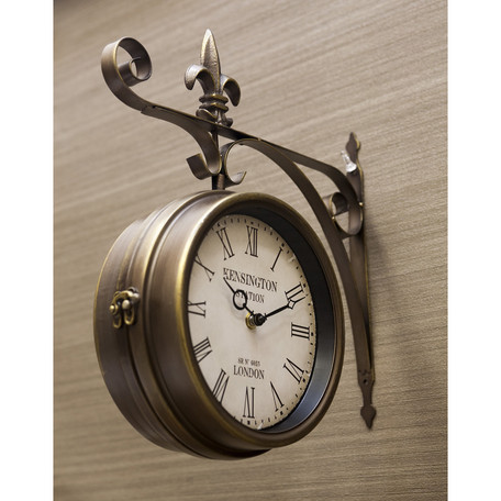Station K Rock Boss Said Wall Clocks Clock L Size Double Sided Watch Fashion Antique Nordic Gadgets