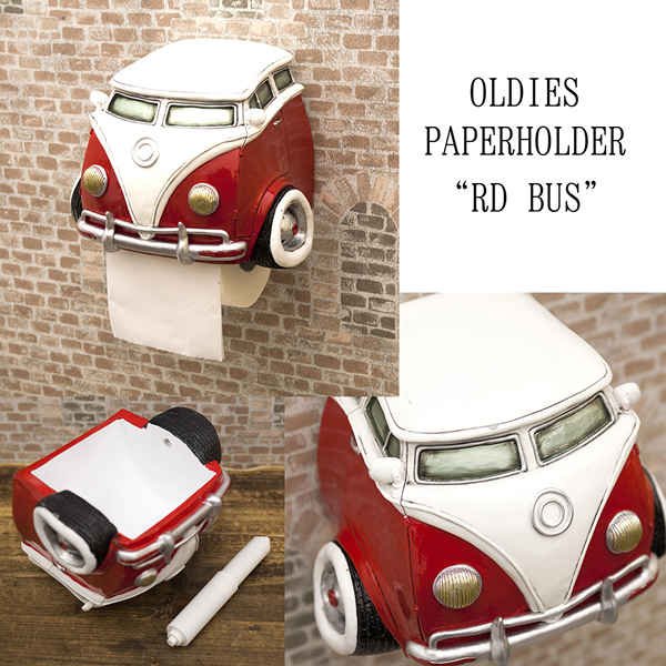 American toilet paper holder (VW bus /AZ-485) American car toilet American  diner objects garage vintage American goods American grocery signs