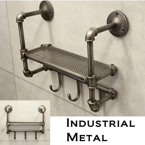 Gas Metal Shelf Hooks A Pipe 295 Hook Key To Hang Resin Wall Shelves Rack Decorative Display Storage Iron