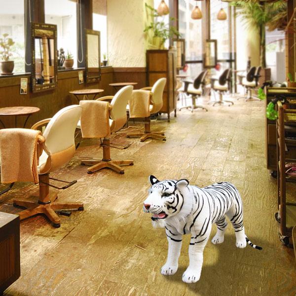 Merveilleux Animal Chairs (White Tiger) Hanshin Tigers Tigers Tigers Stool Chair Bench  Animal Plush Furniture Chair Animal American Gadgets American Gadgets Tiger