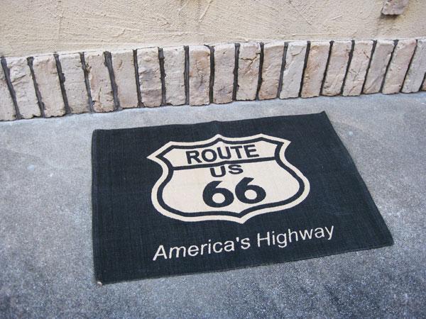 Charmant Route 66 (ROUTE 66 / AZ) American Matt Floor Mat Door Mat Garage Mat Matt  Wash American Gadgets American Gadgets Route 66