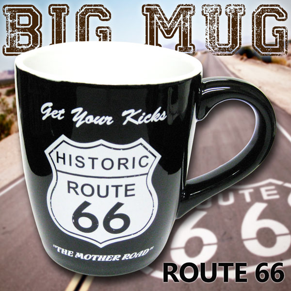 Old American Route 66 Mug 700 Ml Coffee Large Goods Garage