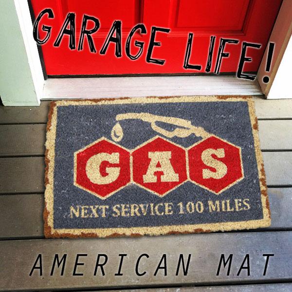 Merveilleux American Door Mats Coconut Mat Gasoline (GAS/PC 06) Coco Mat / Matt Colyer  Mat / Outdoor Entrance Mat / Garage Mat American Gadgets American Goods  Entrance