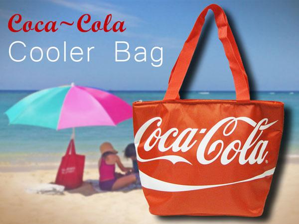 可口可乐(Coca Cola)保冷包(大手提包)冷气设备包午餐背户外运动会便当烤肉美国的杂货美国杂货保冷