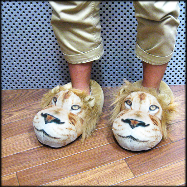 f30a95468197 Lion room shoes slippers fashion slipper cute room shoes Lions Lion King  American goods United States grocery lion