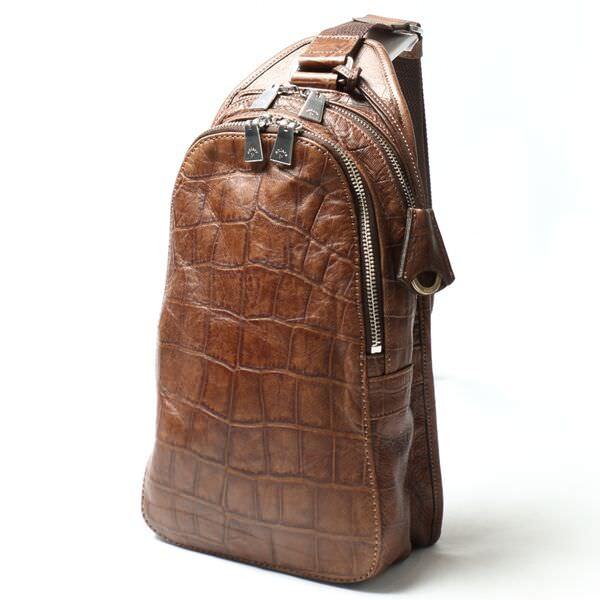 アニアリ ボディバッグ 12-07000-brown
