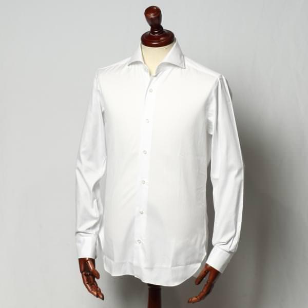 バルバ ドレスシャツ 732450916u-white