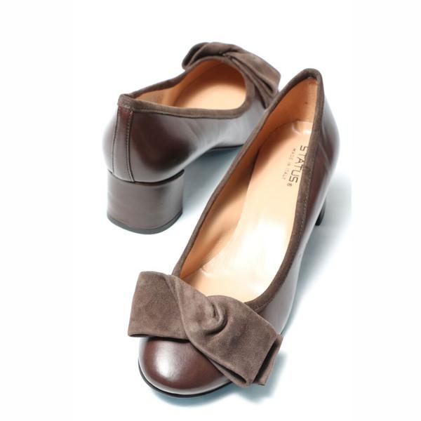 ステイタス パンプス sta3800-brown 200