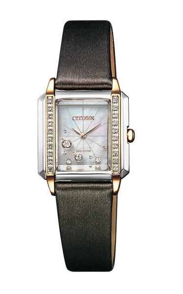 レディース 腕時計 送料無料 新品 正規品 CITIZEN 毎日がバーゲンセール シチズン L SquareCollection スクエアコレクション シチズンエル EcoDrive 革ベルト 通販 EG7068-16D エコドライブ