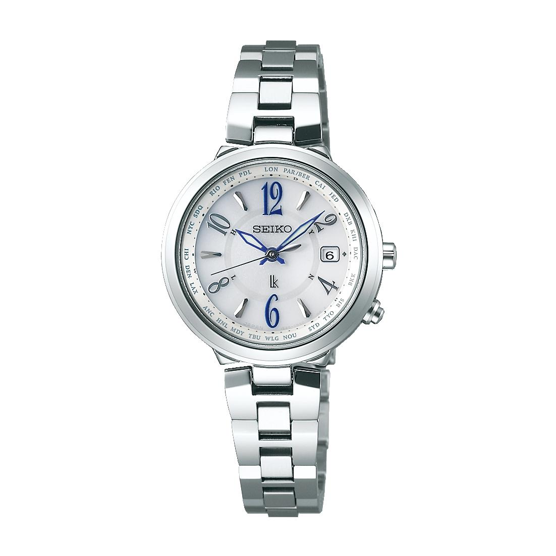 レディース 腕時計 送料無料 新品 正規品 SEIKO 卸売り ルキア ソーラー電波 セイコー SALE開催中 LUKIA SSVV033 ステンレス