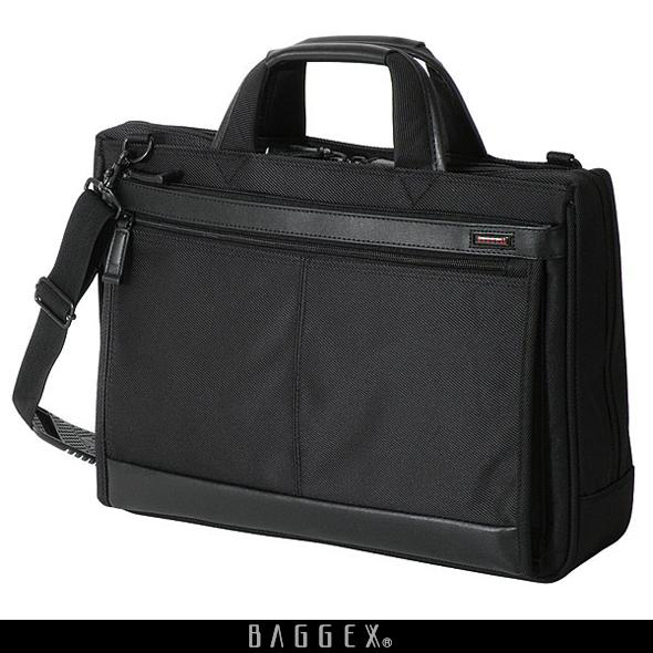 BAGGEX RENARD 23-5452 艶やかな光沢が美しい軽量ビジネスブリーフ